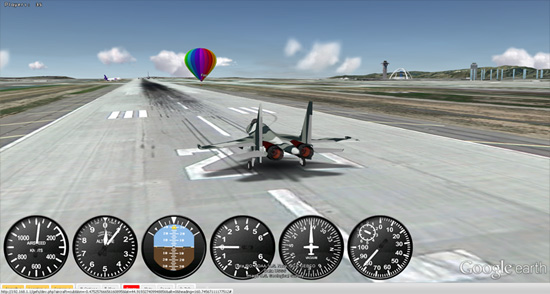 Flight Simulation takes Google Earth to new heights | 6th